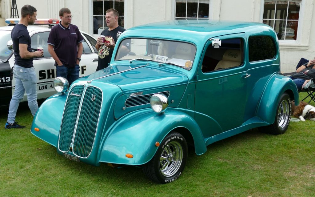 Ford of England Popular V8 Hot Rod