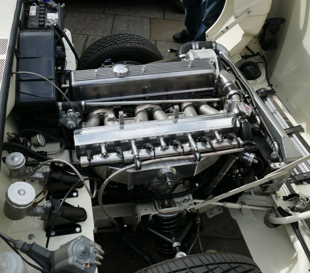 Highly tuned Triumph Vitesse engine
