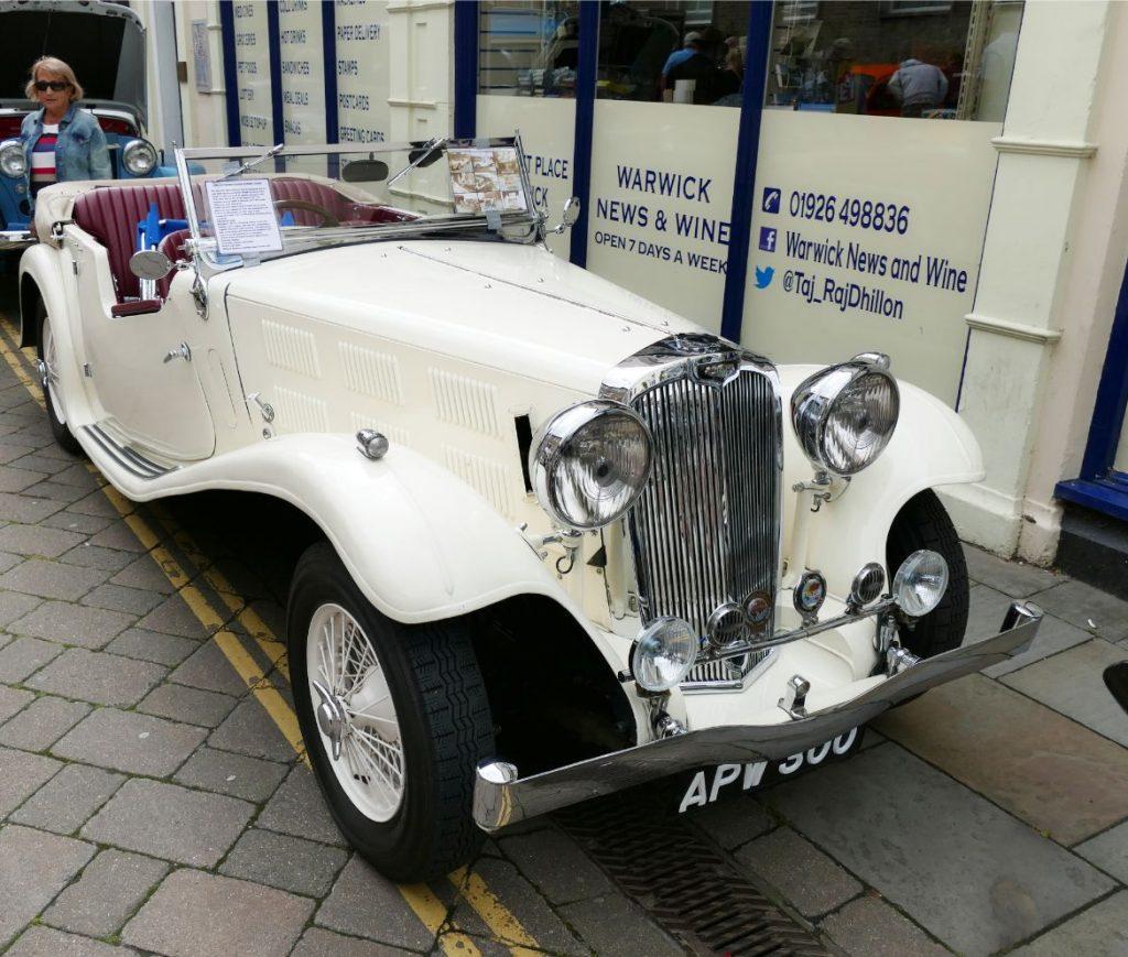 1936 Triumph Gloria Vitesse