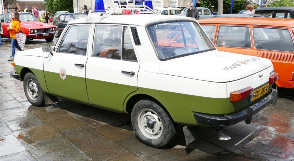 Wartburg East German Police Car