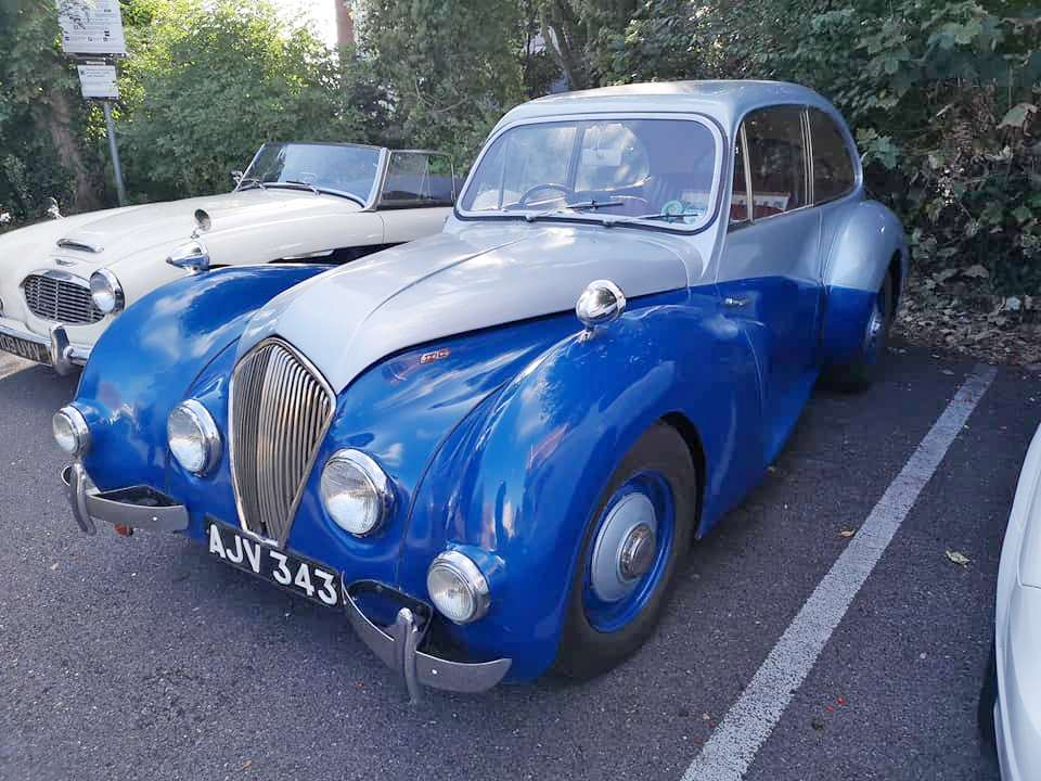 Healey Elliot Blue