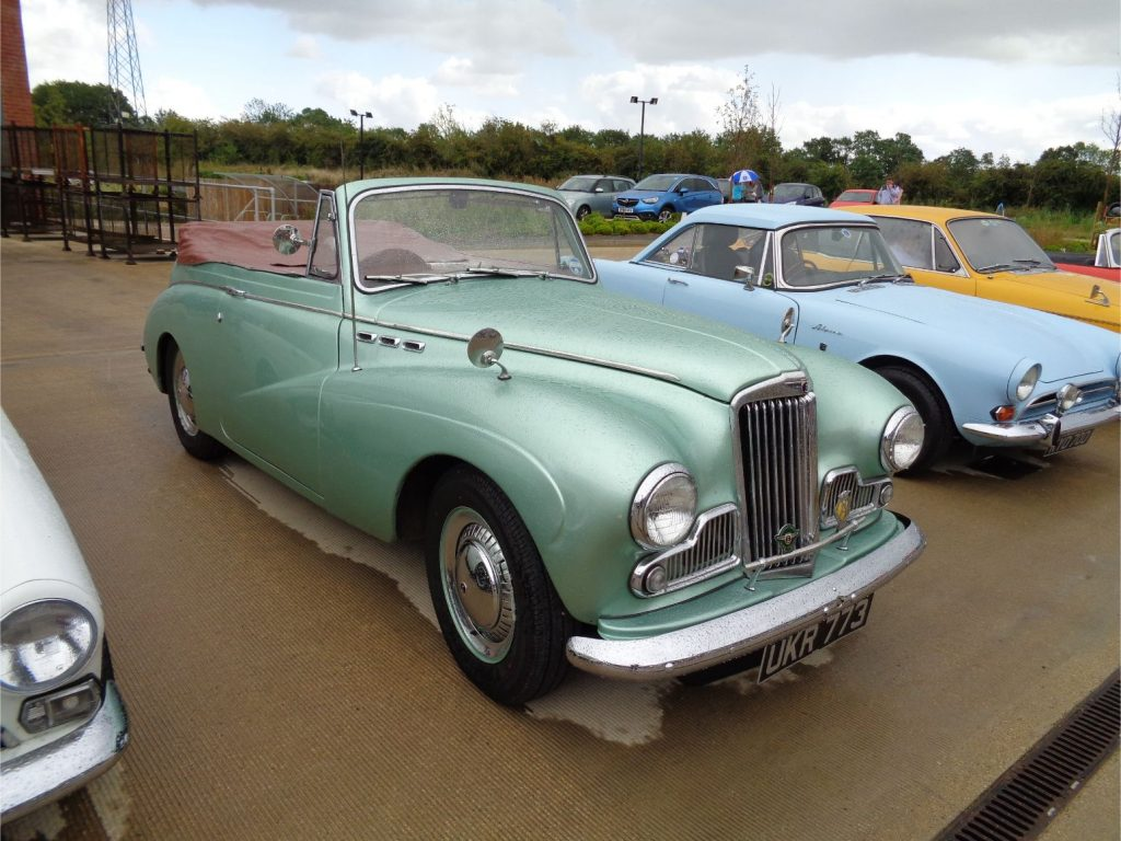 Sunbeam Talbot Convertible