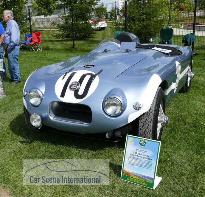 1952 Nash - Healey 'X6' Sports Prototype Le Mans race car