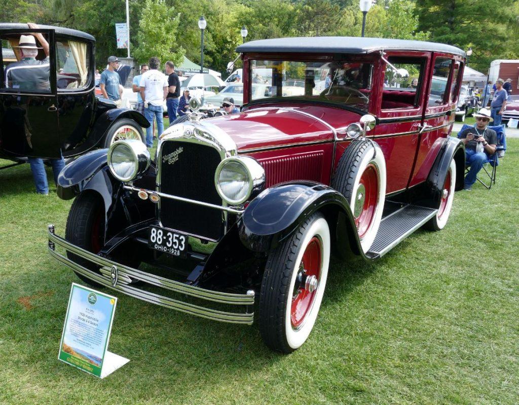 1928 Huppmobile E4 Sedan