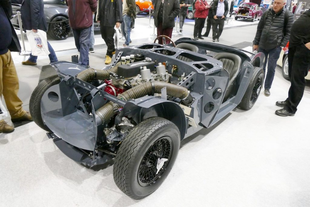 Austin Healey 3000 primed rolling chassis