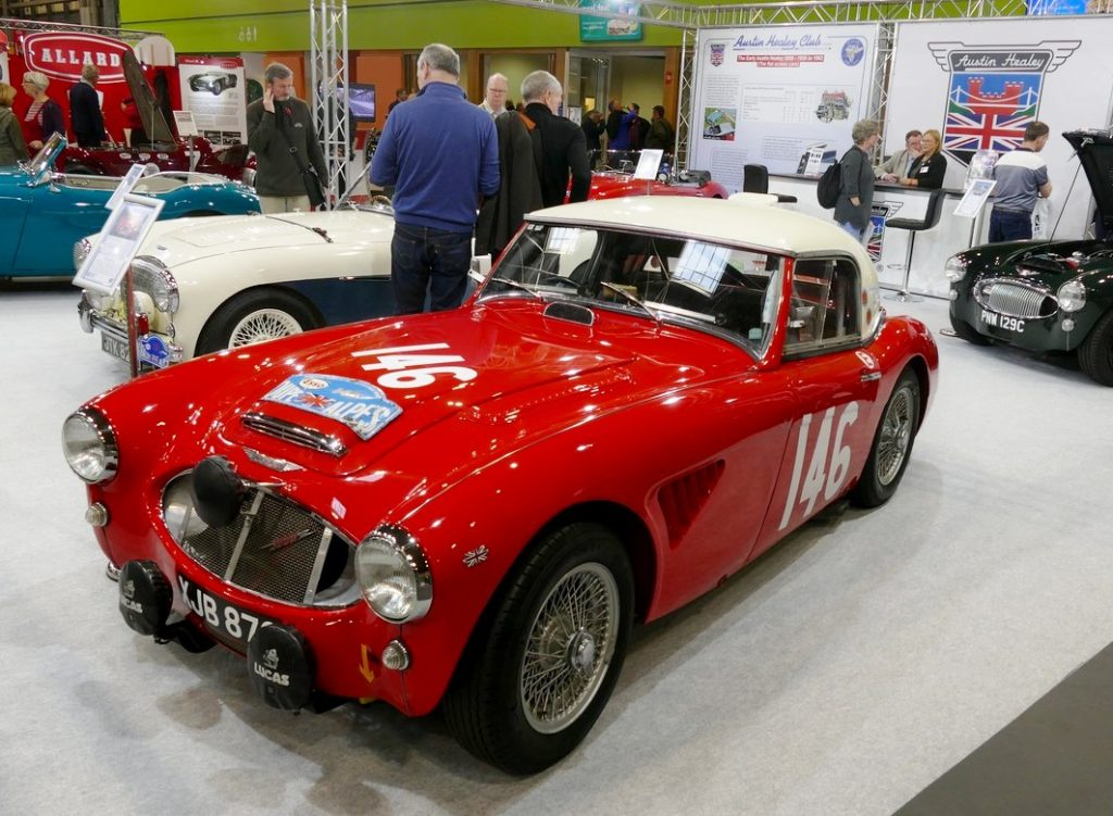 Austin Healey 3000 Rally Car