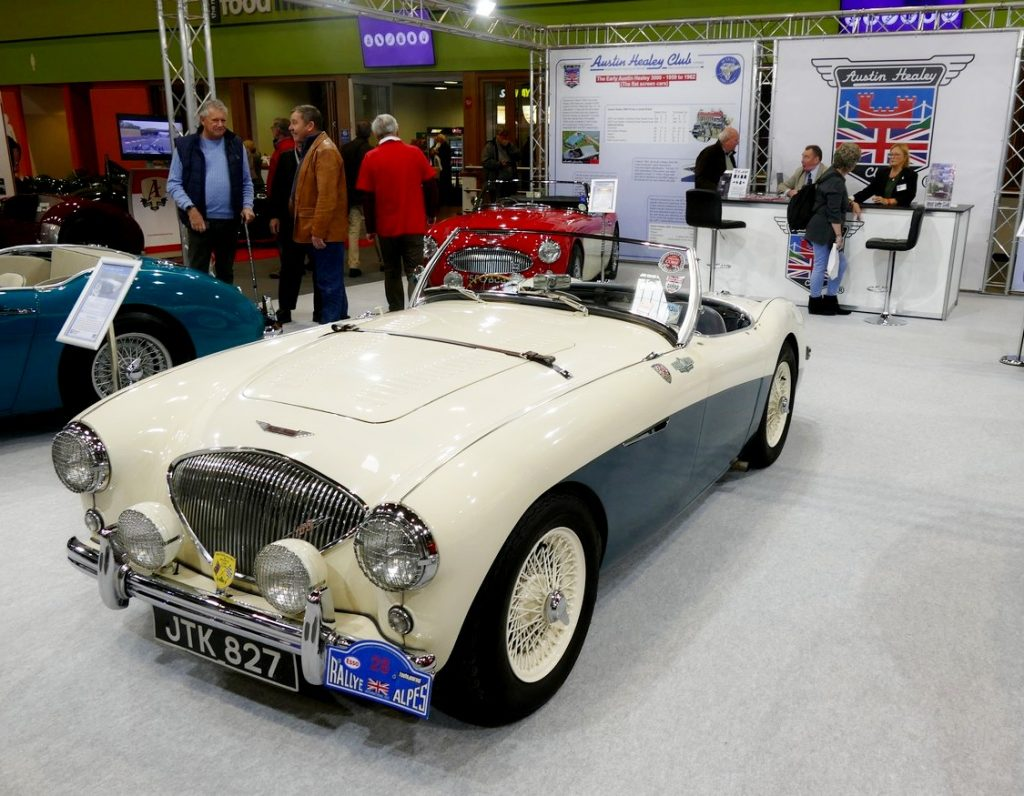 Austin Healey 100 modified to 'M' Spec.