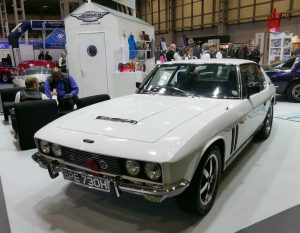 Another Jensen FF his time on the Jensen Owners Club stand