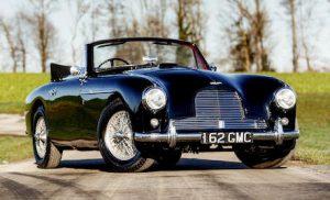 1955 Aston Martin DB 2/4 at Bonhams les Grandes Marques du Monde au Grand Palais 2020