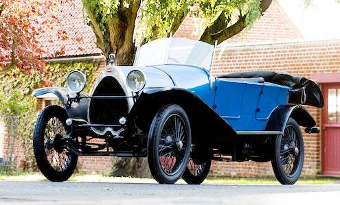 1929 Bugatti Type 29 at Bonhams les Grandes Marques du Monde au Grand Palais 2020