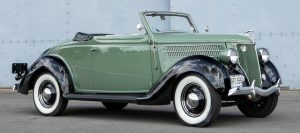 1936 Ford Model 68 Cabriolet was sold at the September 2019 Auction