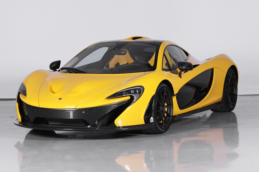 2015 Mclaren P1 sold by Silverstone Auctions