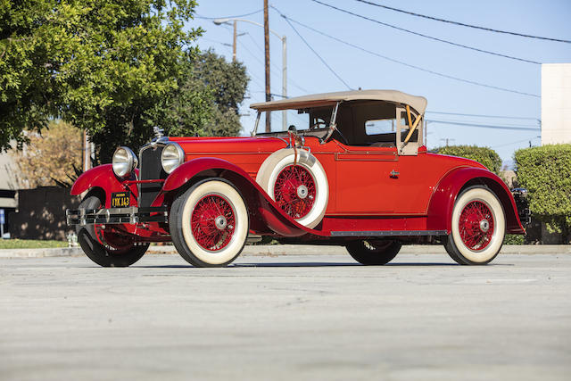 1929 Stutz Series BB Speedster
