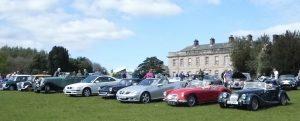 Classic Car Show at Dalemain, Cumbria