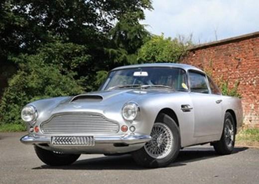 Aston Martin DB5 at Historic Auctions Brooklands