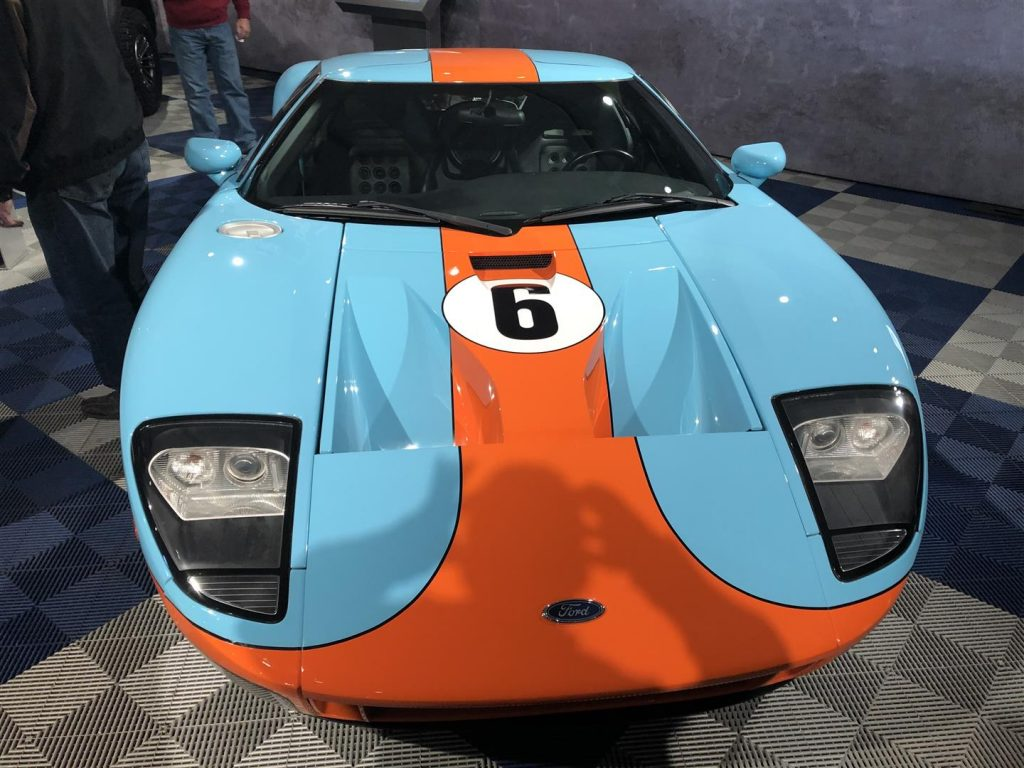 2006-7 Ford GT40 in Gulf Oil Colours of the 1960s Le Mans successes