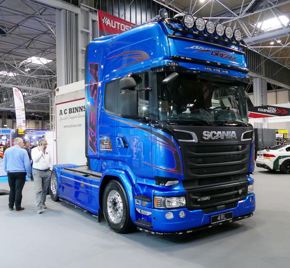 Scania Bluestream Tractor Unit