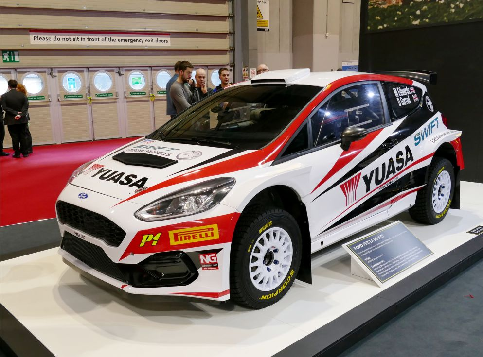 Ford Fiesta Yusa BTCC car