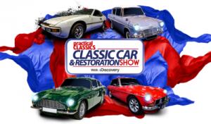 Classic Car and Restoration Show Logo
