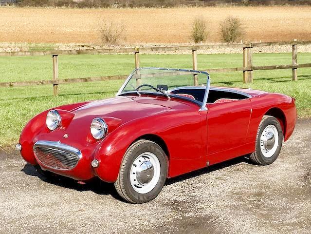 1958 Austin Healey Sprite MKi (Frog/Bug Eye)