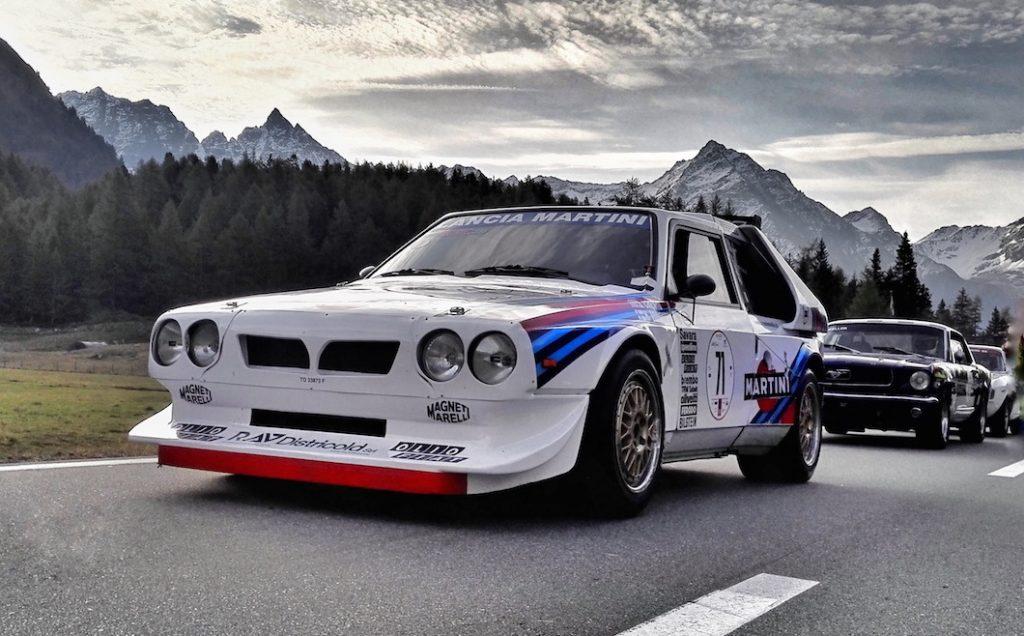 Lancia Delta Integrale at Bernina GT