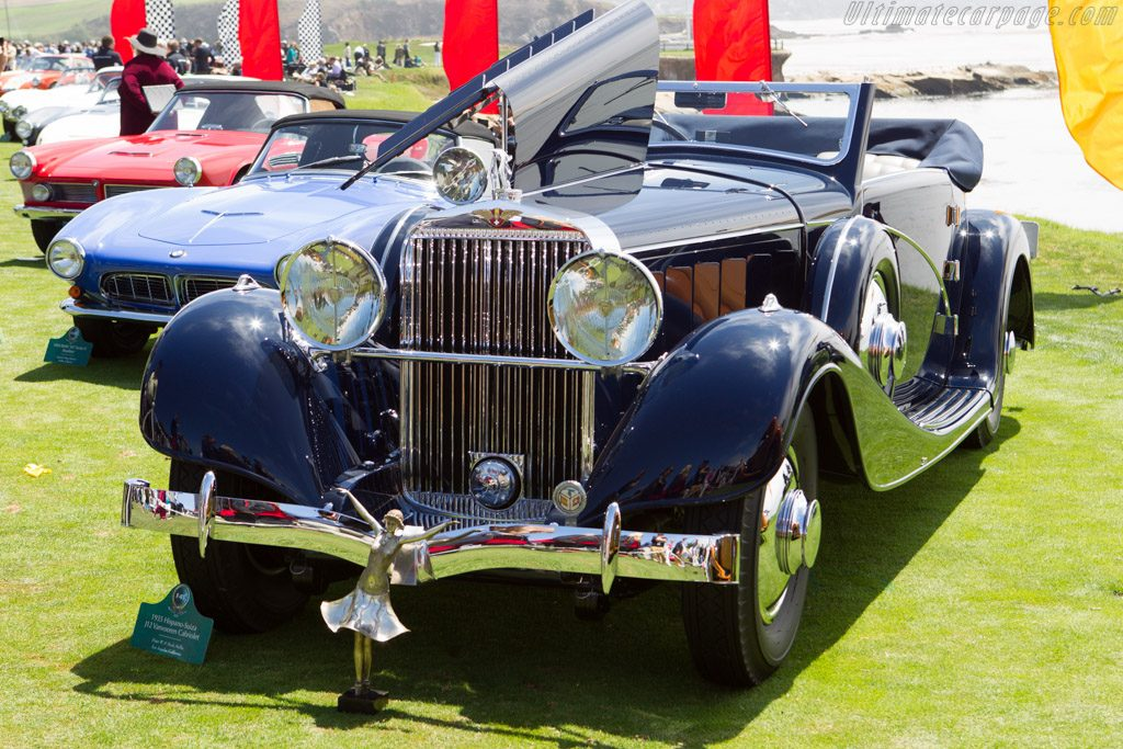 Peter and Merle Mullin's 1937 Hispano-Suiza J12 Cabriolet by Vanvooren