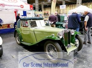 1939 MG TA Tickford