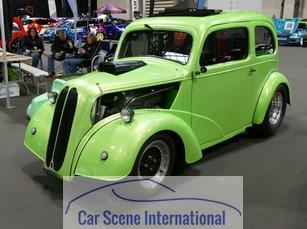 Ford Anglia Hot Rod Green