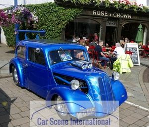 Ford U.K. Popular Hot Rod Blue