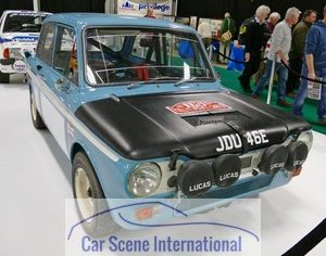 Hillman Imp Ex Works Rally Car