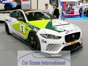 Jaguar XE racer