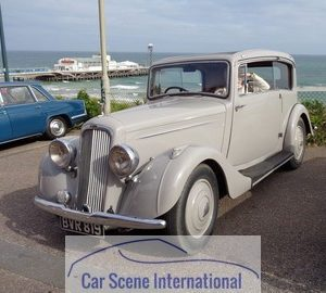 Mid 1930s Humber Vogue Pillarless two door Saloon