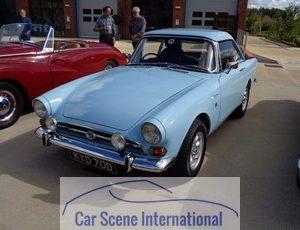 1964 - 65 Sunbeam Alpine serie IV Hard top