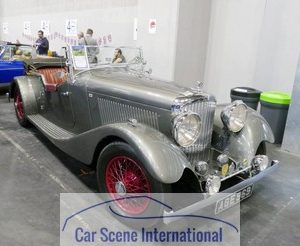 1934 Bentley 3 1/2 Litre Tourer
