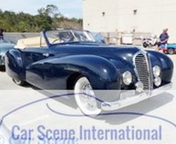 1949 Delahaye 135 M Cabriolet Malmaison by Pourtout