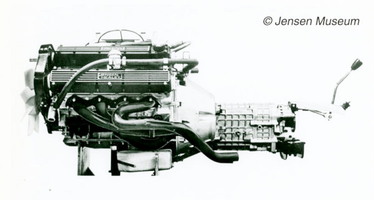 Lotus 908 engine fitted to the Jensen Healey and Jensen GT cars