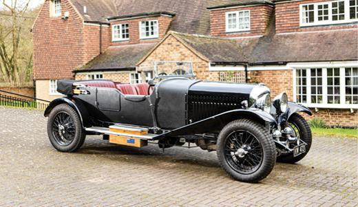 1928 Bentley 4 1/2 Litre Tourer