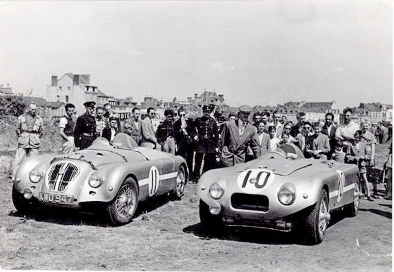 !950 Le Mans Nash Healey X5 and X6