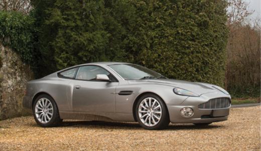 2001 Aston Martin Vanquish V12