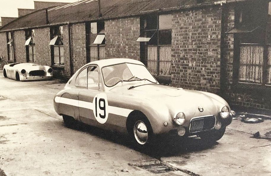 Nash Healey Coupe LM 1951 at Cape works
