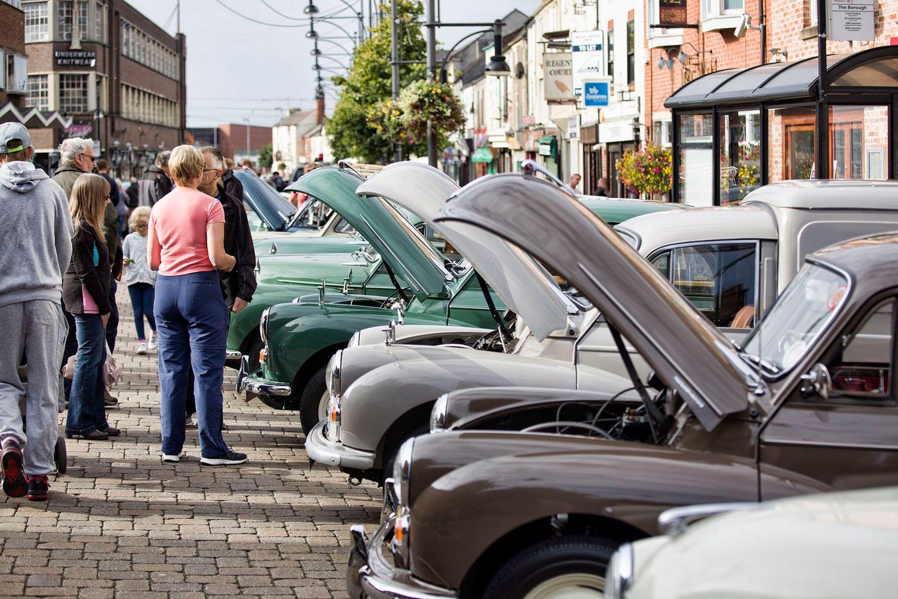 Hinckley classic motor show