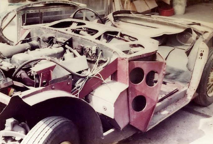 URK 397 Stripped prior to restoration