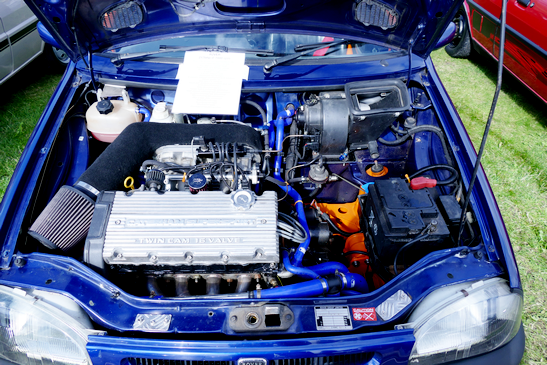 Rover 100 (Metro) with transplant engine