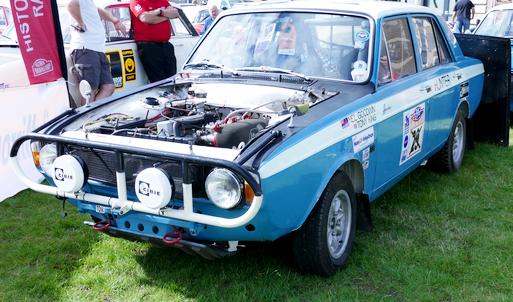 Hillman Hunter Rally Car