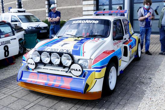 MG Metro 6R4 World Rally Championship 1985 - 86 'Works' car
