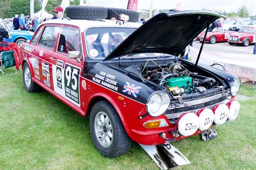 "Austin 1800 ""Land Crab"" Works Rally Car"