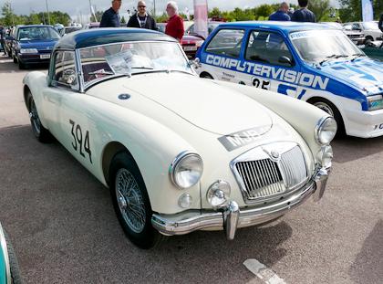 MGA Racing Car