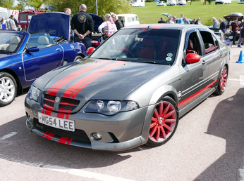 MG ZS Saloon customised