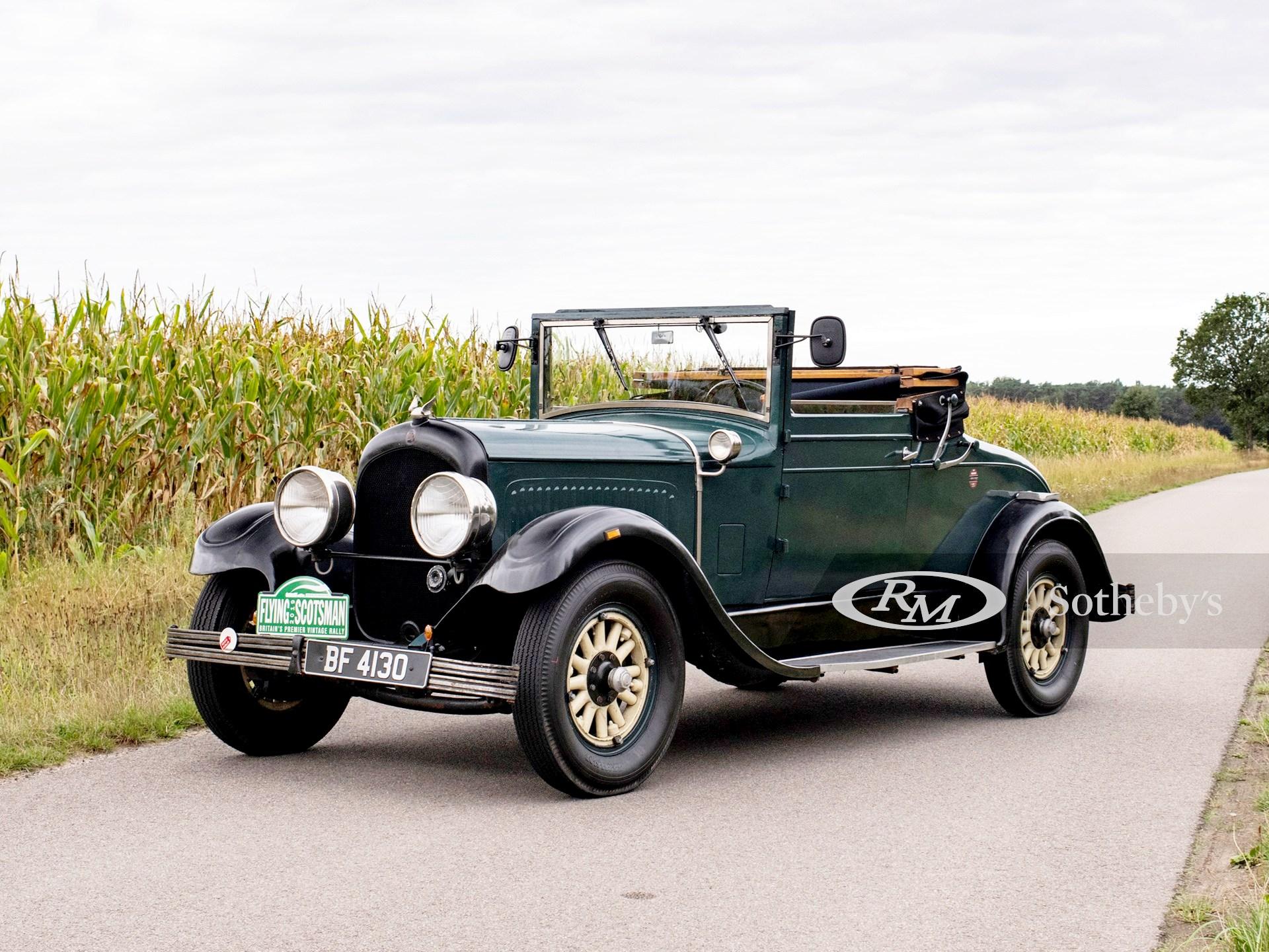 1928 Chrysler Model 72 Roadster