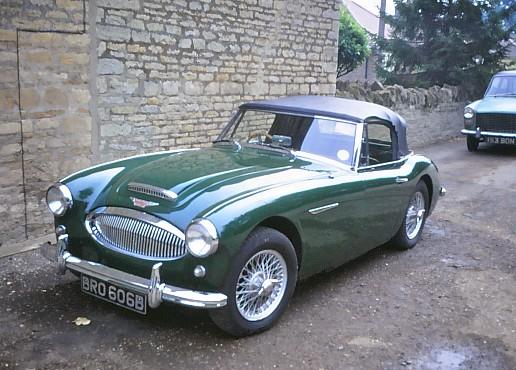 1964 Austin Healeu 3000 MKIII